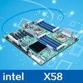 Обои для рабочего материнская плата для intel S5520HC Dual X5650 1366 до открытой двусторонний серверная плата рендеринга материнские платы