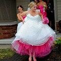 Tamaño Y Color por Encargo Versátil 5 Capas Enaguas de la Enagua Tutú Faldas de Tul Para Las Mujeres Accesorios de La Boda