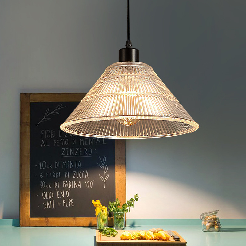 Rocamar Copper And Glass Single Pendant: Light Bulb Pendant Light Copper Glass Restaurant Pendant