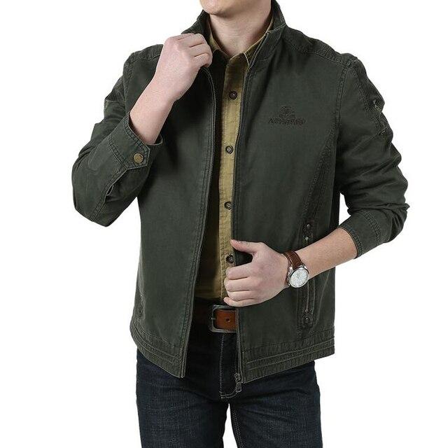 05627a4ef8b29 Alta calidad 100% algodón hombres negocios chaqueta informal chaqueta de  primavera y otoño hombres marca