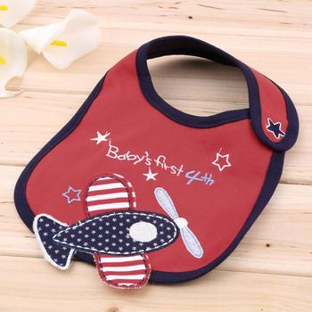 0-3 years baby bibs bib Infant Saliva Towels Newborn Wear Burp Cloths Waterproof Hot Selling - Green