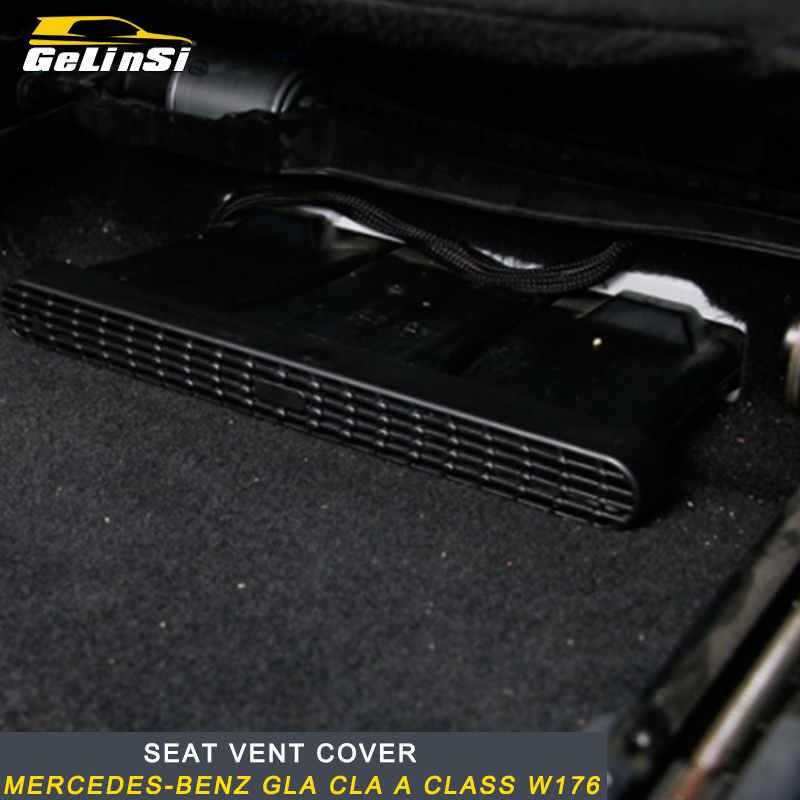 Gelinsi for Mercedes benz A class GLA CLA w176 auto seat vent cover trim sticker accessories