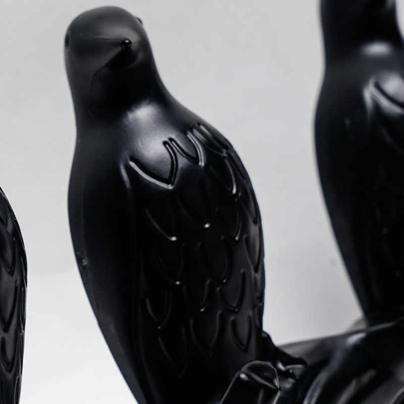 3D мультфильм птица Декор крюк DIY пальто креативная настенная вешалка для гостиной спальни настенный крючок для ключей рамка для дома Декор 4 цвета
