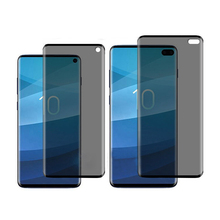3D Privacy Tempered Glass Screen Protector For Samsung Galaxy S10 Plus S9 S8 + Note 10 Pro 9 8 Anti-Spy Glass Protector hotsale 9h 2 5 d anti spy privacy premium tempered glass screen protector for samsung galaxy note 3
