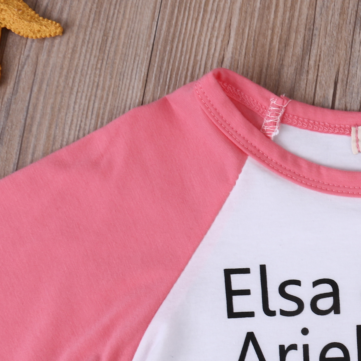 Cute Toddler Kids T Shirt 2017 New Elsa Anna Print Long Sleeve Baby Girls TShirt Tops Children Outfit Blusa 0 4Y In Tees From Mother On