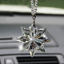 Crystal Christmas Gift Car Pendant Accessories For Nissan Qashqai j11 Juke X-trail T32 Tiida Note Almera Primera Pathfinder