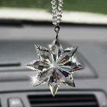 Crystal Christmas Gift Car Pendant Accessories For Skoda Octavia 2 A7 A5 A4 Vrs Fabia 1 Rapid Yeti Superb 3 Felicia Citigo RS