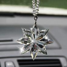 Crystal Christmas Gifts Car Pendant Accessories For Hyundai IX35 Solaris Accent I30 Tucson Elantra Santa Fe Getz I20 Sonata I40 цена 2017