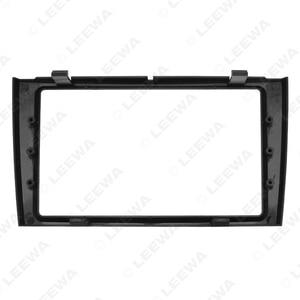 Image 4 - LEEWA Car Double Din DVD Radio Fascia Frame for PEUGEOT 308/408 Dashboard Panel Mount Installation Adapter Trim Kit #CA5191