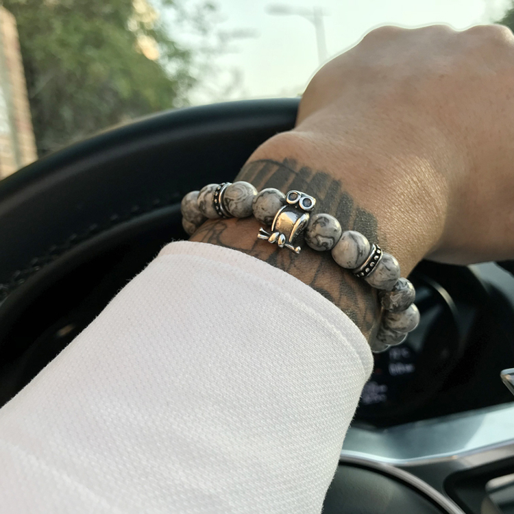 HTB1FJ8TaizxK1RjSspjq6AS.pXad - Skull&Bones Luxury Bracelet