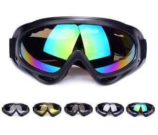 Free Shipping 2016 New Outdoor Windproof Glasses Ski Eyewear Goggles Dustproof Snow Glasses Men Motocross Riot
