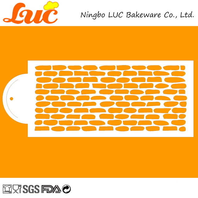 aliexpress com buy luc stencils for cakes decorating tools