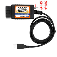 MAOZUA MZ327 USB OBD2 With Switch Diagnostic Scanner Support For FORD Models Open Hidden ELM327 OBD2