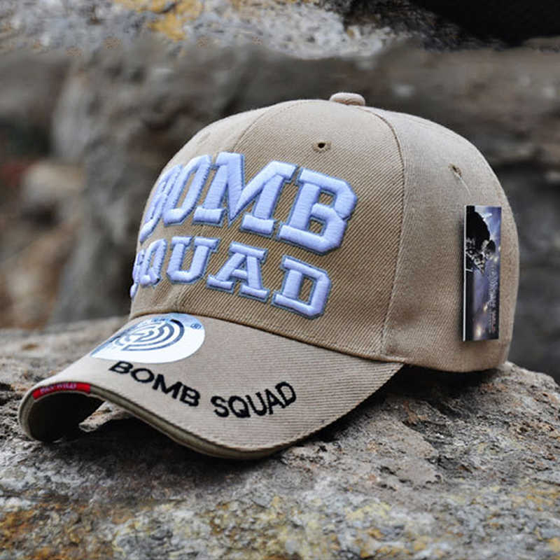 15c908db0acc31 ... US Tactical Hats USNS SWAT Navy Army Special Forces Insignia NAVY Seal  Hat Eagle Trident Camo ...