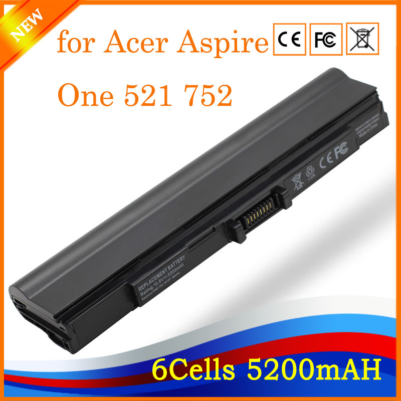 YHR pour Acer Aspire One 521 752 752 H Calendrier 181 AS1410 1410 1810TZ 1410 T 1810 T UM09E31 UM09E32 UM09E36 batterie D'ordinateur Portable HK04
