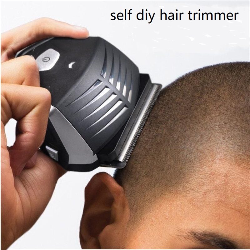 Electric Self Haircut Clipper Men Diy Head Hair Cut Machine Short Hairstyle Yourself Trimmer Cutter Shaven Balding Shaver Razor