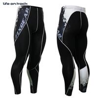 2016 Men Cycling Pants Bottoms Printing Design Running Activities Sports Bicycle Tops Skins Tights Cycle Trousers For Male