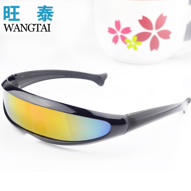 855b75393e Personalized sunglasses laser glasses cool space robot one piece mercury lens  sunglasses