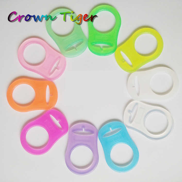 and button style Pacifiers MAM Adapters MAM Clear Dummy holder Pacifier clip adapter for Nuk