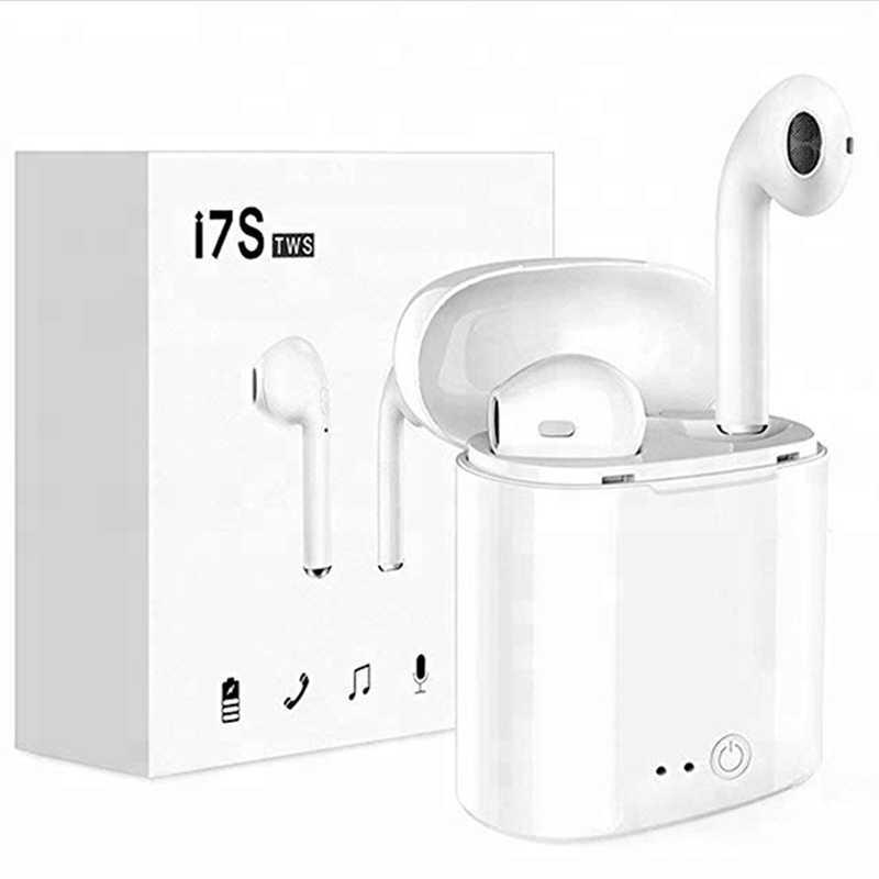 Najgorętsze I7S słuchawki TWS słuchawki bluetooth z okno ładowania sport twin bezprzewodowy
