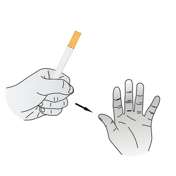 Cigarette Vanishing Magic Tricks Smoke Magia Close Up Street Prop Gimmick Accessories Comedy Classic Toy