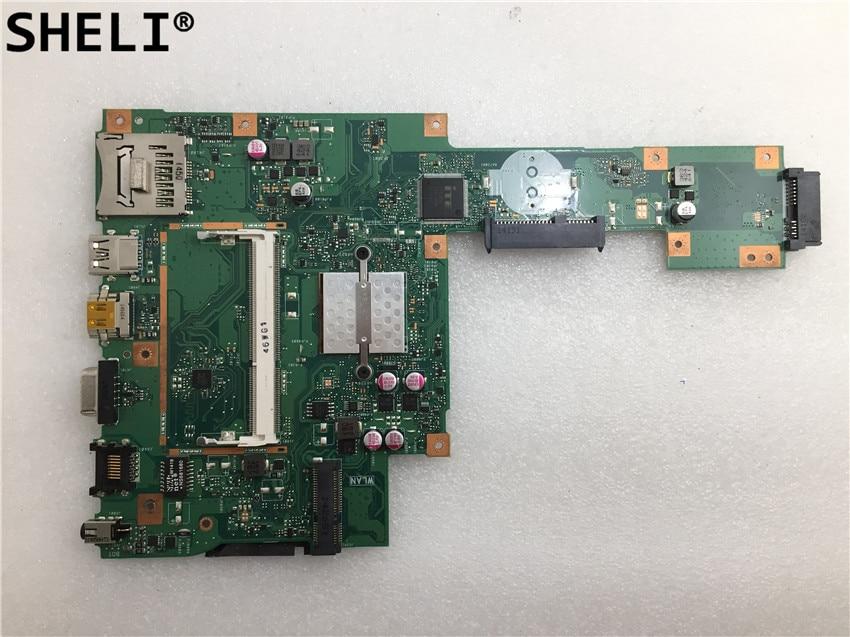 все цены на SHELI ASUS For X553MA motherboard with N3530 cpu онлайн