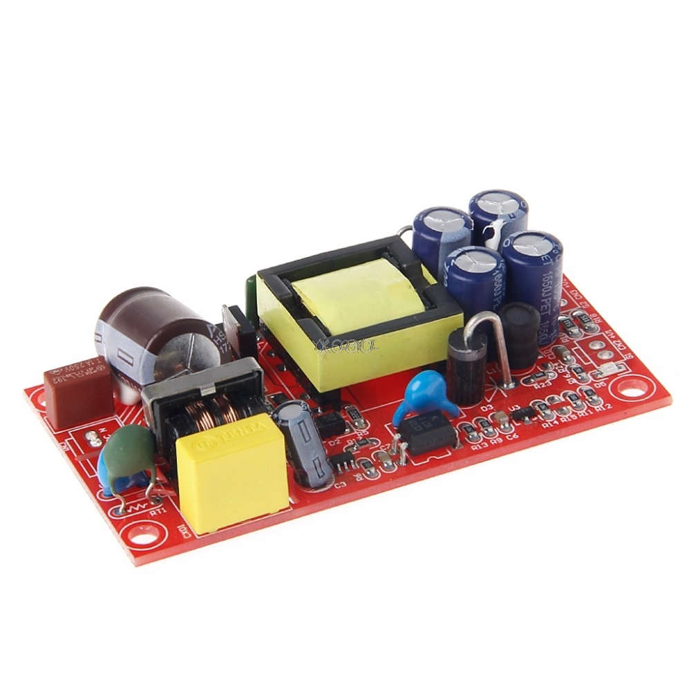 12V 1A/5V 1A AC-DC Buck Converter Double Isolation Output Module Power Supply M13 dropship image
