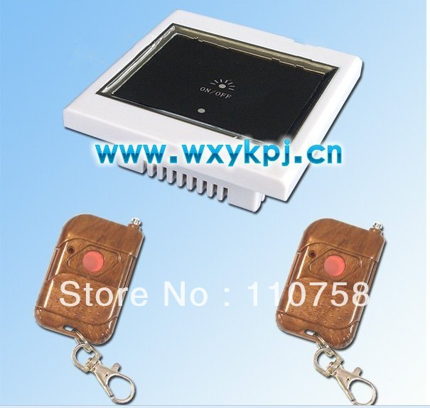 Wireless Radio Remote Control Wall Light Switch System+LCD Touch Screen LED Indicator  smart home controller system
