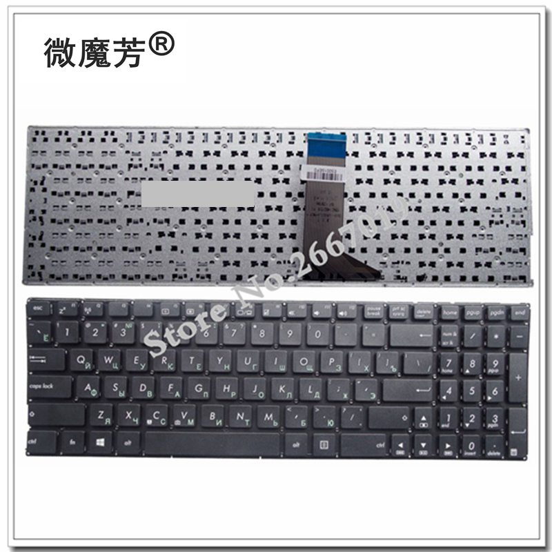 Russian For Asus X551 X551C X551CA X554L X551MA X551MAV RU Laptop Keyboard New Black