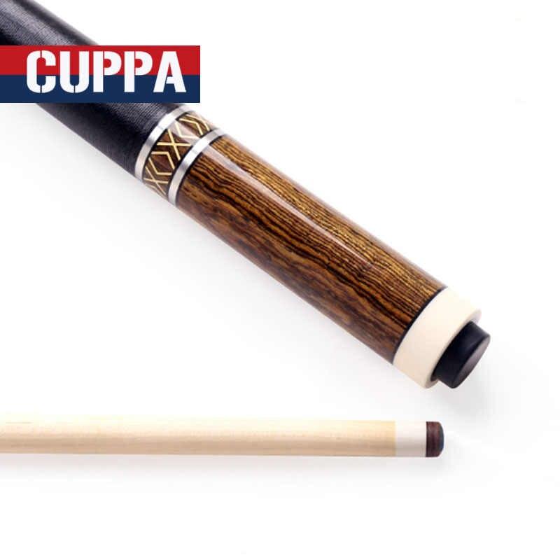 Nueva llegada CUPPA Taco de piscina de alta calidad puntas de 11,75mm/13mm con juego de Cue de piscina china