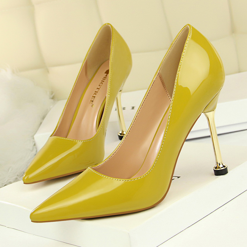 BIGTREE elegant office work shoes women high heels <font><b>chaussure</b></font> femme <font><b>talon</b></font> stiletto escarpins <font><b>sexy</b></font> <font><b>hauts</b></font> hells shallow career shoe image