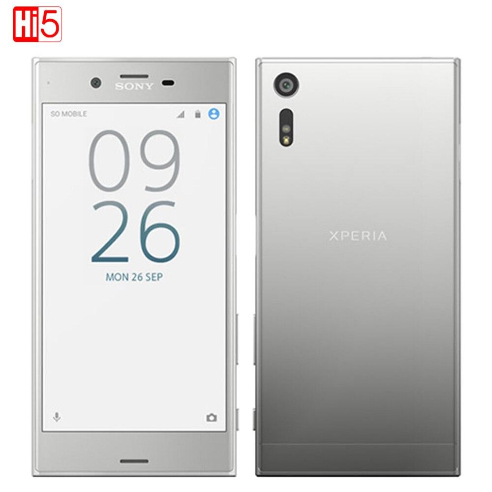 Desbloqueado Sony Xperia XZ F8332 Teléfono Dual SIM Móvil Octa Core 23MP Snapdra