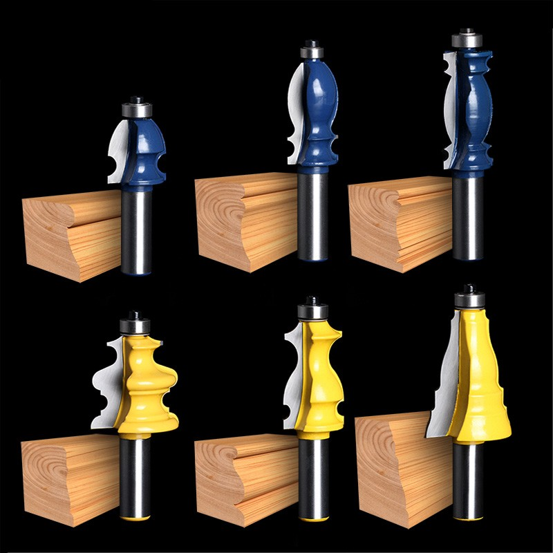 1/2(12.7mm) HQ lace knife handle woodworking milling cutters cabinets wardrobe door plank of wood knife