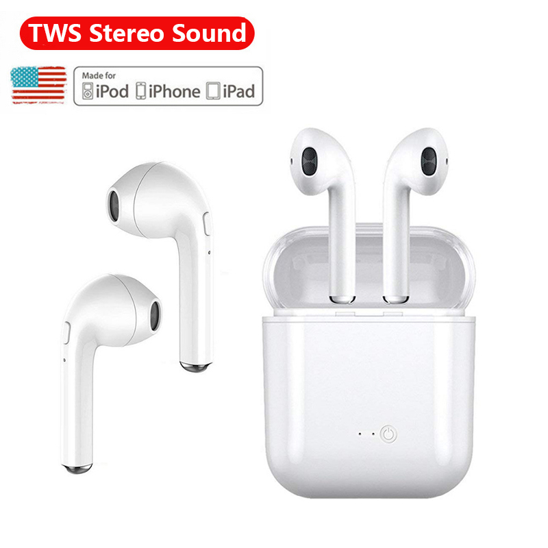 Auriculares inalámbricos i7S audifonos bluetooth fone de ouvido auriculares inalámbricos auriculares deportivos inalambrico auriculares para todos los teléfonos