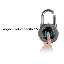 Замок отпечатков пальцев Противоугонный шкаф дверной замок водонепроницаемый замок отпечатков пальцев