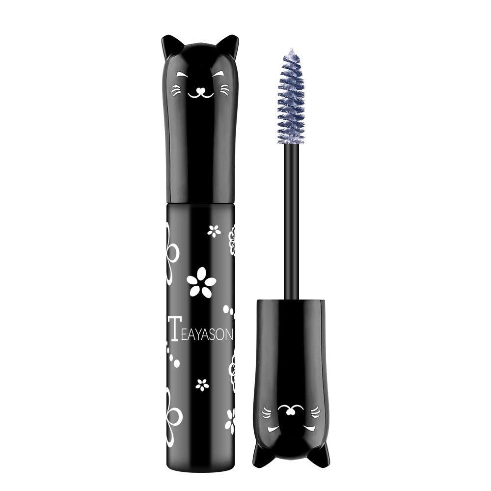 Color Mascara 4D Silk Fiber Lash Mascara Waterproof Fast Dry Eyelashes Extension Curling Lengthening Makeup Eye Lashes TSLM1 4