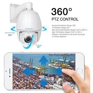 Image 5 - Inesun PTZ IP Камера 2MP 5MP Super HD 2592x1944 30X зум 7 дюймовый открытый Водонепроницаемый Скорость купол Cam ИК Ночное видение до 500ft