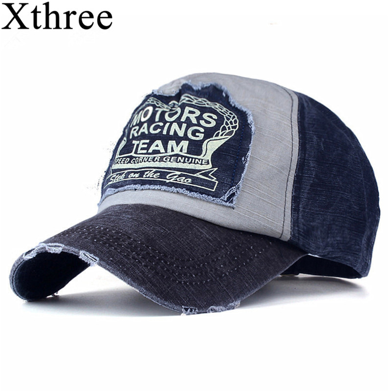 Xthree wholesale baseball cap snapback hat  spring cotton cap hip hop fitted cap  cheap hats for men women summer cap new 2017 fashion unisex cap bones baseball cap snapbacks hat simple hip hop cap casual sports female hats wholesale