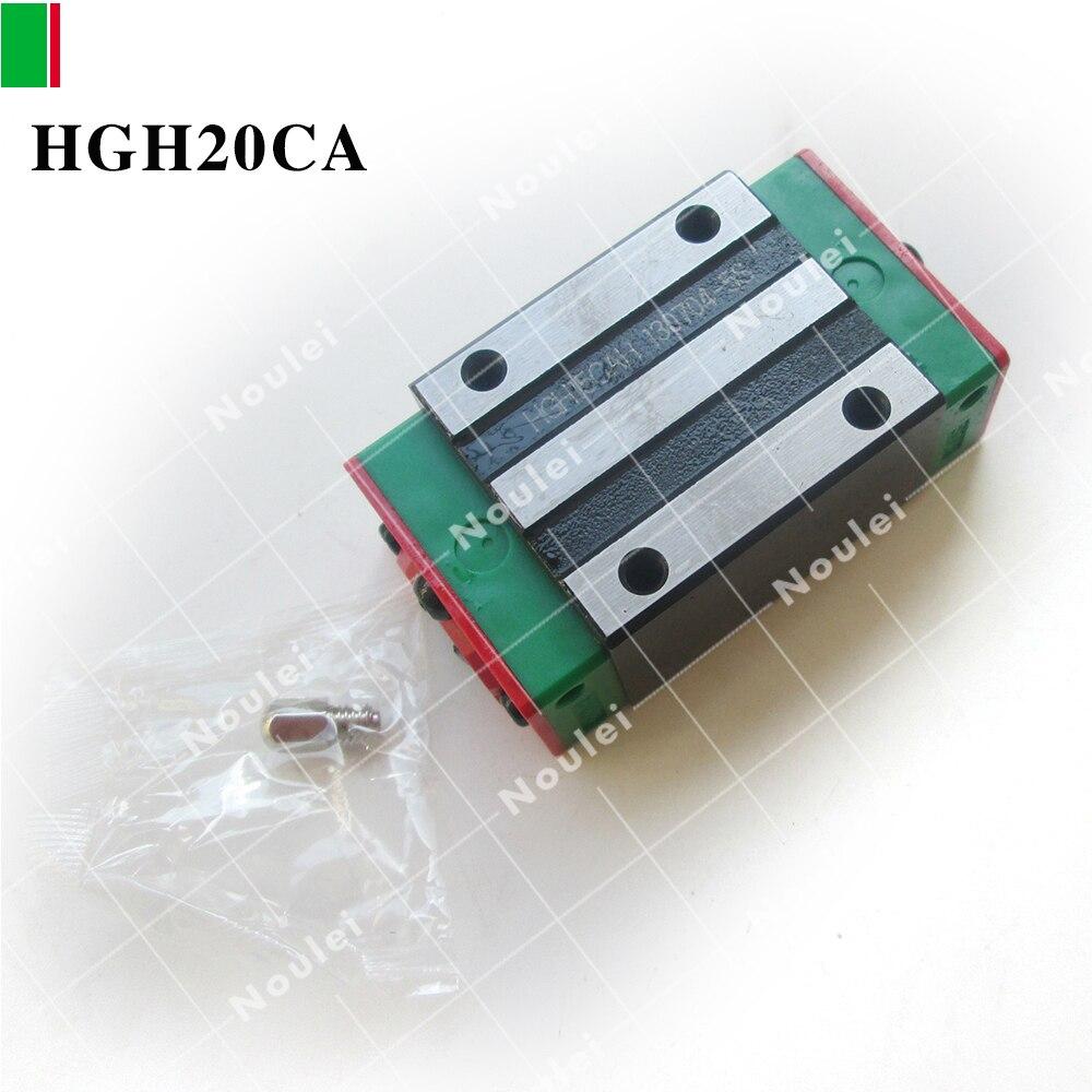 30pcs HIWIN  slider block HGH20CA  C precision for linear guide rail CNC parts high precision 1pcs linear guide 20mm trh20 l 1000mm linear rail 2pcs trh20b slider block bearing linear guide rail for cnc