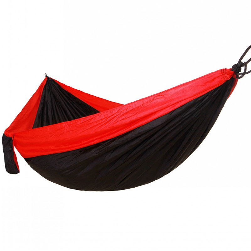 Large Size Parachute Hammock 2 Person Portable Garden Outdoor Camping  Travel Furniture Part 49
