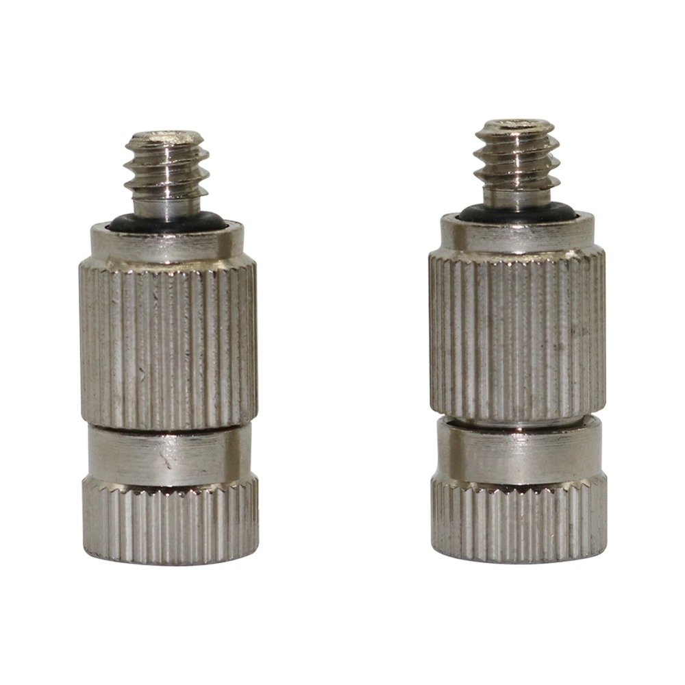 Thread-Misting-Nozzles Sprinklers Sprayers Cooling Anti-Drip Stainless-Steel High-Pressure