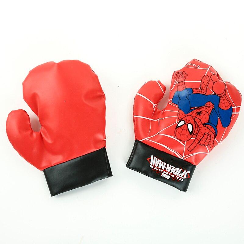 2019 Disney Marvel Spiderman Jouet Gants De Sacs De Sable Ensemble Enfants  de Boxe De Sport Jouets Pour Enfants Garçons Débutant En Plein Air Cadeaux  ... 16cdadf0bbf