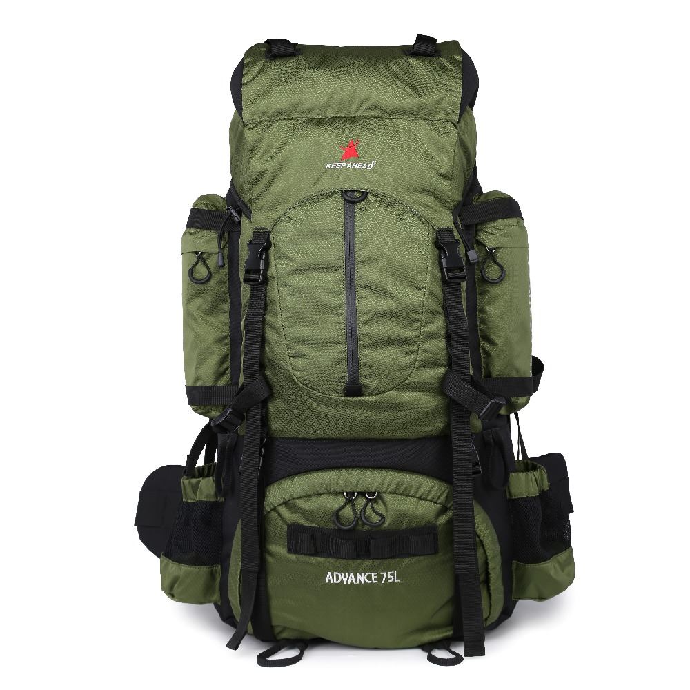 2c75d39b0494 75L Large Capacity Camping Backpacks Good Ventilation Outdoor Bags With  Wear Resistance And Comfort Internal Frame Softback #806988
