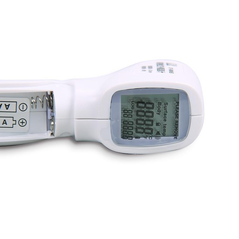 raktári testhőmérsékleti tesztben digitális testhőmérővel, - Mérőműszerek - Fénykép 5