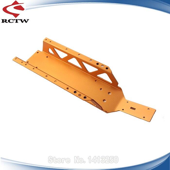 Accessoires de jouets RC Baja châssis de châssis principal for1/5 5B 5 T KM matériau métal ROVAN