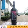 Modelo de juguete inflable inflable bebida tazas 3.3 m inflable barril de vino tinto botella de cerveza de lata con la impresión completa para adversting