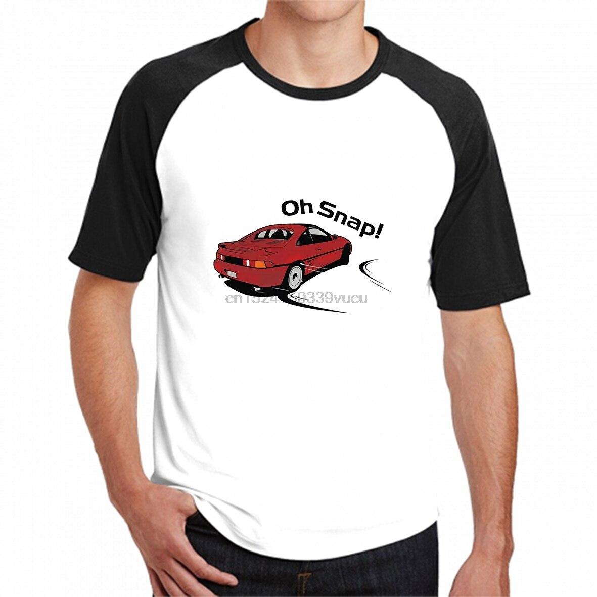100% Cotton O-neck Custom Printed Men T Shirt Mr2 Oh Snap! Women T-shirt
