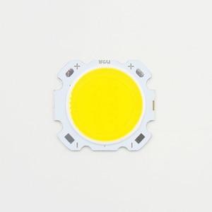 Image 2 - 10pcs LED COB 10W cree שבב גודל 28mm 20mm קר/חם לבן Fit עבור COB led DIY שבב cree LED הארה זרקור
