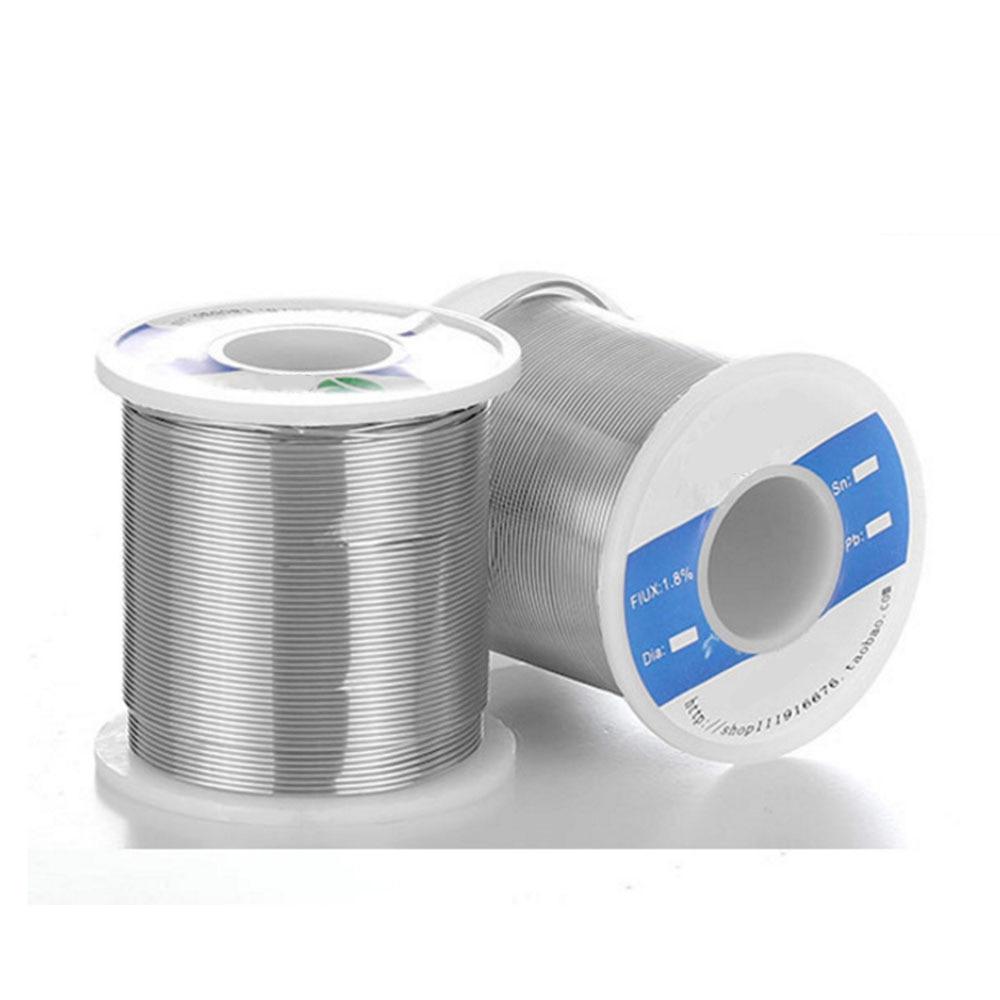 400G 0.8mm/1mm 60/40 Tin plomb À Souder colophane flux Rouleau De Fil À Souder P20