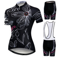 Weimostar Summer Women MTB Bike Clothing Pro Team Cycling Jersey Set Racing Sport Bicycle Clothing uniforme Roupa Ciclismo Mujer